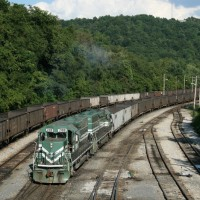 A&O slug set at Grafton, WV, 2006 -Brian Bennett