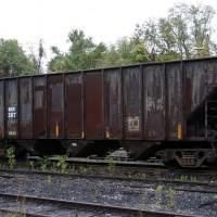 Big Eagle Railroad hopper 287 at Winifrede Jct, WV