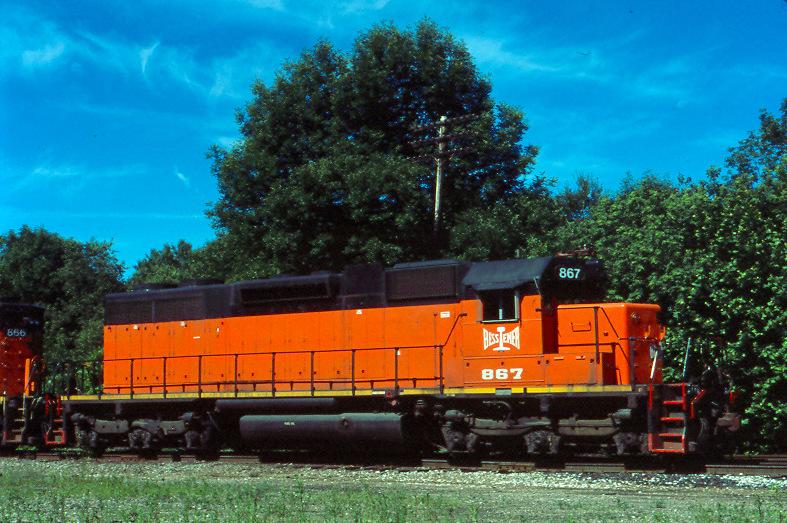 B&LE 867 Albion, PA