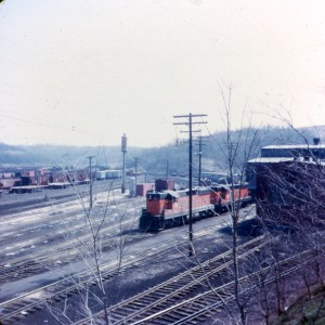B&LE SD9s at North Bessemer, PA, 1972 -Dan Bourque collection