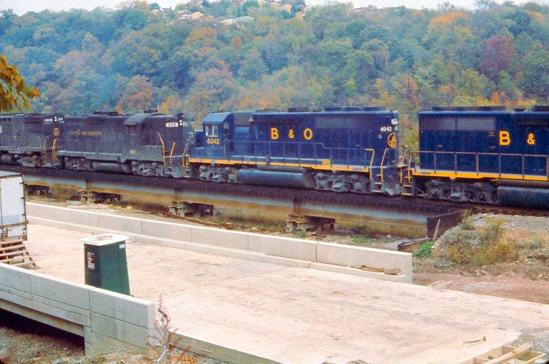 B&O 4042 Oak, PA