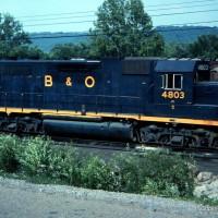 B&O 4083 DeCoursey Yard, KY