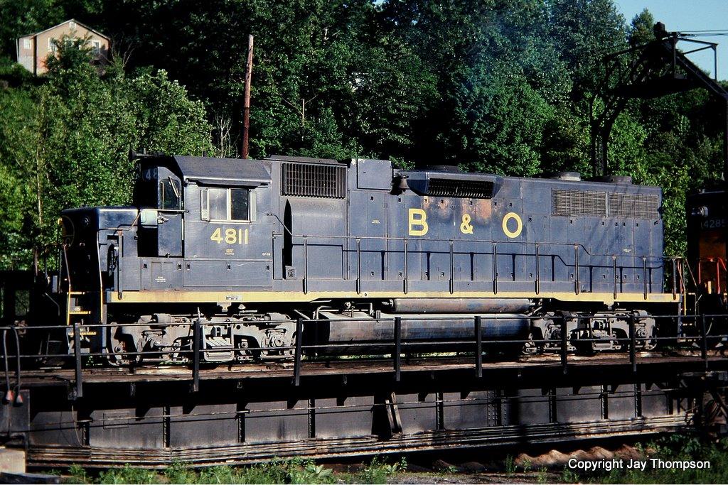 B&O 4811 Shelby, KY