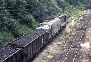 F-unit and geep at Grafton, WV, 1974 -Donald Haskel