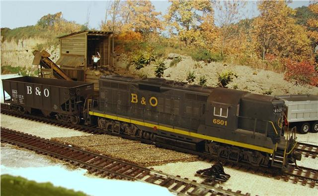 B&O GP9 model by Kevin Yackmack