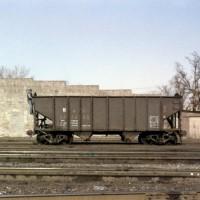 B&O 55-ton hopper 347605 at Huntington, WV
