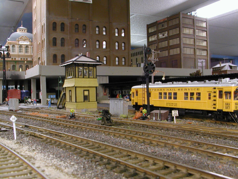 B&O Grafton Station model by Ed Lorence