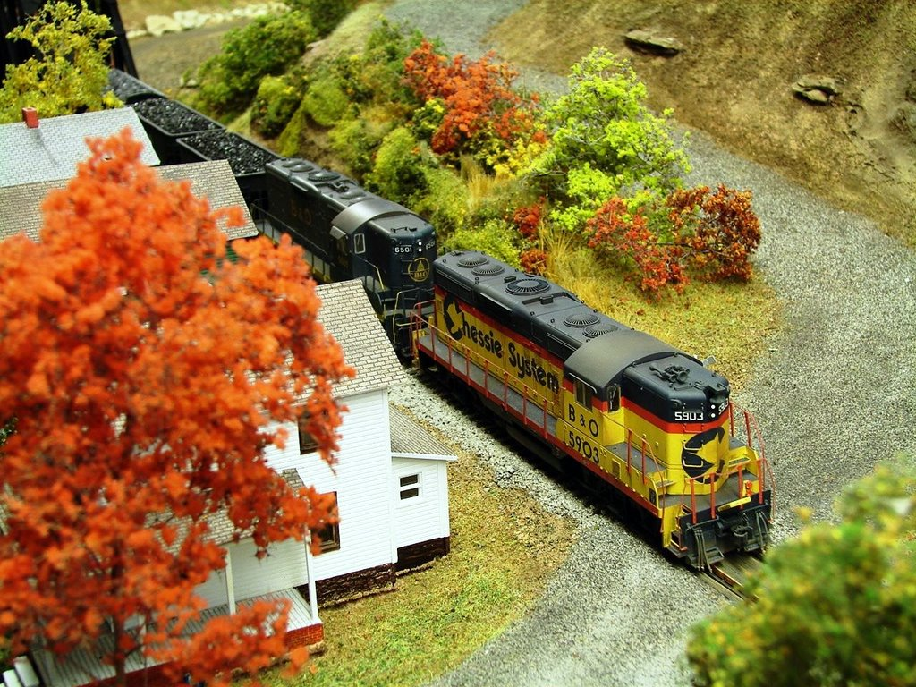 Chessie GP9 model by Kevin Yackmack