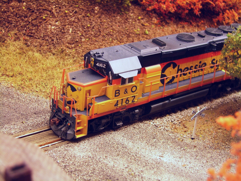 Chessie GP40-2 by Kevin Yackmack
