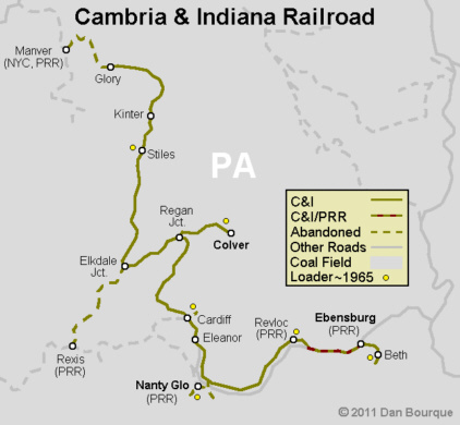 C&I Cambria & Indiana – Appalachian Railroad Modeling