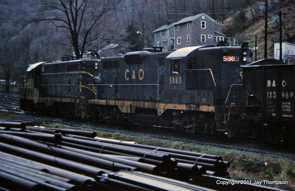 C&O 5883 Dunham, KY