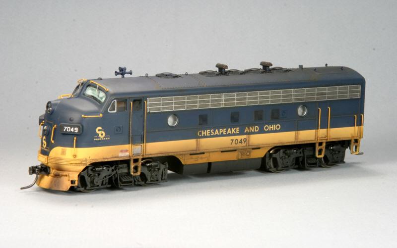 C&O F7A by Stuart Thayer