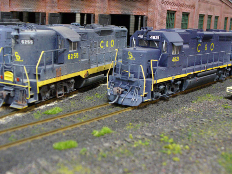 C&O geeps by Brian Kelly