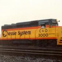 C&O GP30 3000 at Huntington, WV