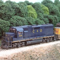 C&O GP38 by Patrick Tillery