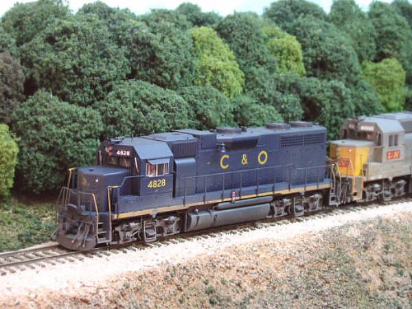 C&O GP38 by Patrick Tillery