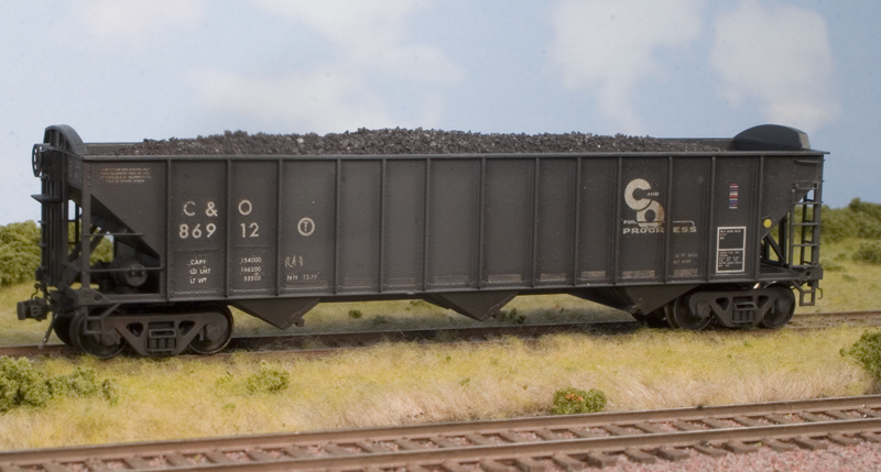C&O 85T hopper by Kevin Kayser