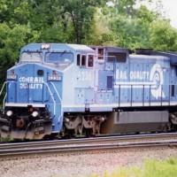 Conrail C40-8W 6236 Allentown, PA