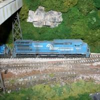 Conrail C40-8 by John Terry