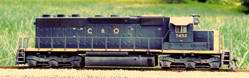 C&O SD40 by Kevin Yackmack