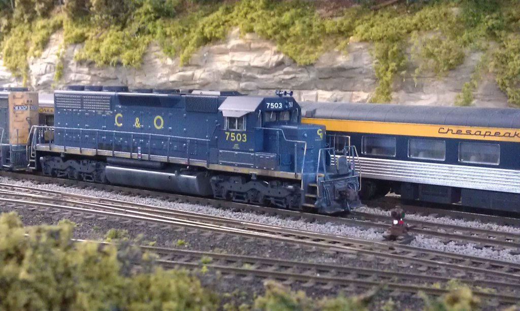 C&O SD40 by Brian Kelly