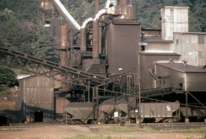 Island Creek coal facility near Prince, WV, 1969 -Donald Haskel