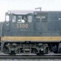 C&O U23B 2300 in Huntington, WV