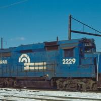 Conrail GP30 2229 Morrisville, PA