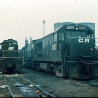 Conrail 2620 Croxton, NJ