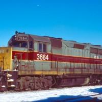 Conrail GP35 3664 Riverdale, IL