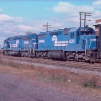 Conrail 6012 Bound Brook, NJ