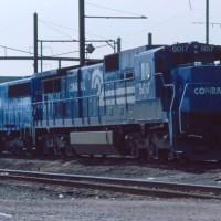 Conrail C39-8 6017 Morrisville, PA