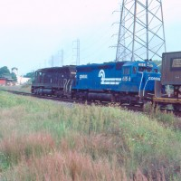 Conrail 6156 Bound Brook, NJ