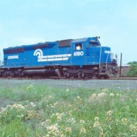 Conrail SD45 6180 Bound Brook, NJ