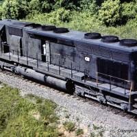 Conrail SD45 6217 Edgemoor, TN