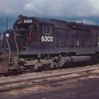 Conrail SD40 6302 Detroit, MI