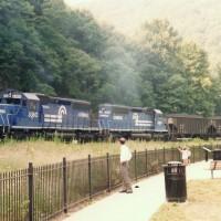 Conrail 6360 Horseshoe Curve, PA