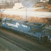 Conrail C36-7 6621 Conway, PA