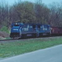 Conrail 6628 Blandon, PA