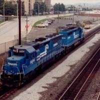 Conrail 6654 Altoona, PA