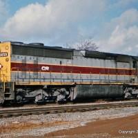 Conrail SD45-2 6659 Etowah, TN