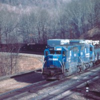 Conrail 6663 Horseshoe Curve, PA