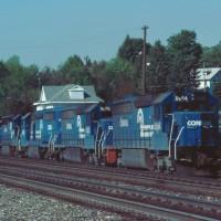 Conrail SD45-2s Cresson, PA