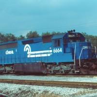 Conrail 6664 Cresson, PA