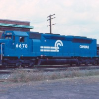 Conrail SDP45 6678 Bound Brook, NJ