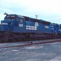Conrail SDP45 6681 Bethlehem, PA