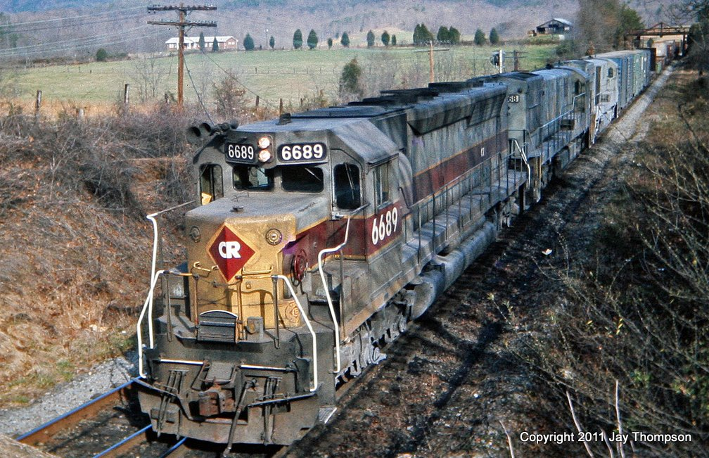 Conrail 6689 LN Dossett, TN