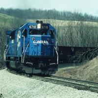 Conrail 6710 Blacksville, WV