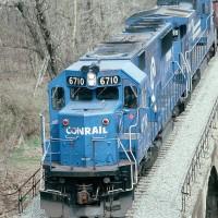 Conrail 6710 MGA Mather, PA