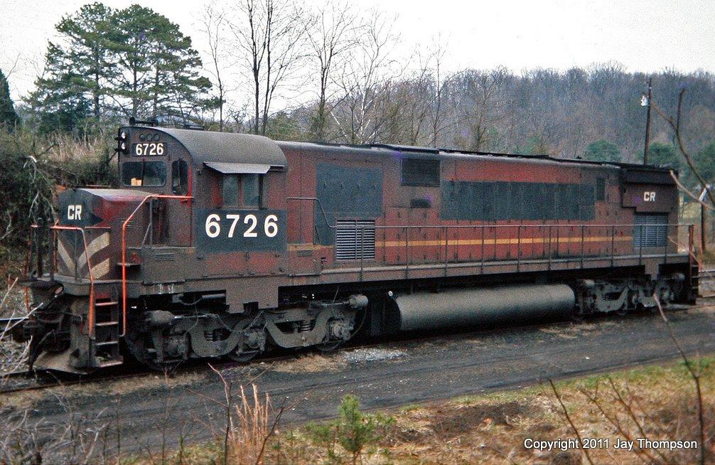 Conrail C628 6726 Dossett, TN